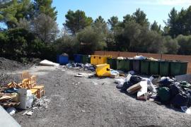 Sencelles interpone 13 multas de más de mil euros cada una por vertidos incontrolados