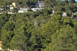 Torre de telefonía móvil en Calvià