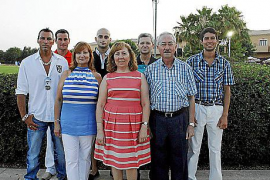 Cena benéfica de la junta local de s'Arenal de la Asociación Española Contra el Cáncer