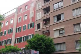 Incendio en un tercer piso de la calle Ramón y Cajal de Palma