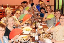 Cena de verano de la asociación Auba Mallorca