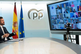 Cruce de reproches de Casado con el Gobierno por las ayudas europeas por la crisis