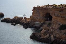 El anuncio del verano de Estrella Damm en Ibiza, en imágenes (Fotos: Marcelo Sastre).