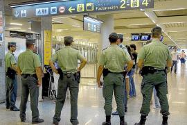 Un vigilante de Son Sant Joan confiesa el robo de las sacas con 800.000 euros