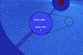 Descubierto el cometa número 4.000