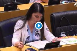 Olona a Montero: «¿En nombre de qué perspectiva de género vetaron investigar los abusos en Baleares?»