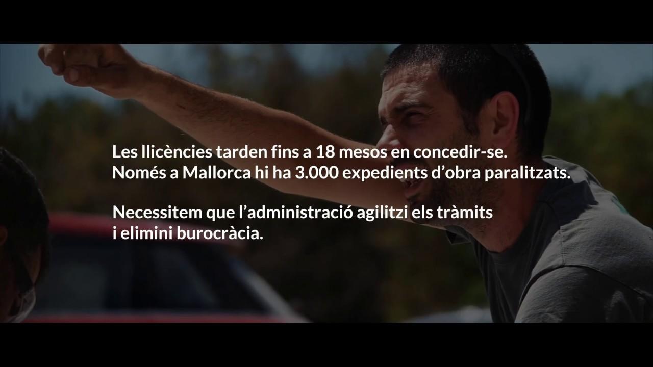 El sector de la construcción en Baleares pide auxilio