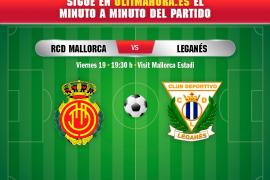 Así ha sido el Real Mallorca-Leganés