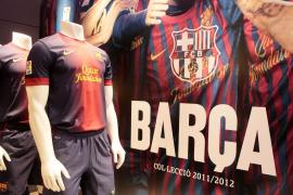 La botiga del Barça en Palma de Mallorca
