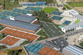 La Rafa Nadal Academy crece con un pabellón de 10 pistas cubiertas