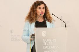 La portavoz del Ejecutivo, Pilar Costa en una imagen de archivo.