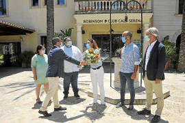 Los turistas del plan piloto llegan a Cala Serena