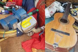 Detenidos dos hombres por cuatro robos en viviendas aisladas de Llucmajor