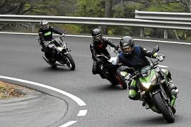 Continúan las 'subidas' de motos a toda velocidad por la carretera del Puig Major