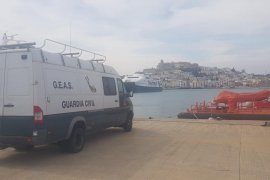 Recuperan en aguas de Ibiza el cadáver de un submarinista desaparecido en Murcia