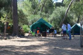 Un campamento sin plaza para los virus