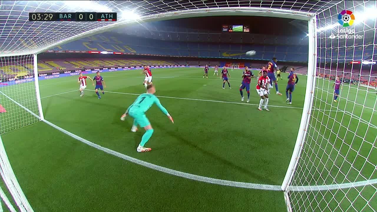 El Barça supera otra evaluación ante el Athletic