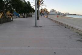Palma respeta el cierre de las playas y su alcalde lo agradece