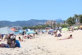 Máximas de agosto a partir del viernes en Mallorca