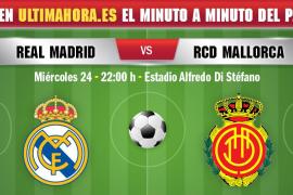 Así ha sido el Real Madrid-Real Mallorca