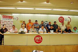 Los sindicatos de Balears se unen contra los recortes de Rajoy