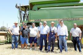 La escasez de lluvias y las heladas provocan una campaña irregular de cosecha de cereales