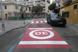 Un carril propio para los transportistas en Palma