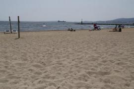 Prueba piloto en la playa de Ciutat Jardí para controlar los aforos