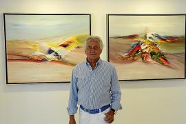 Los últimos lienzos de Palomo Linares aúnan «arte y toros» en la galería Vanrell