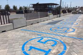 Formentera amplía las plazas de aparcamiento limitado a 15 minutos en la Savina