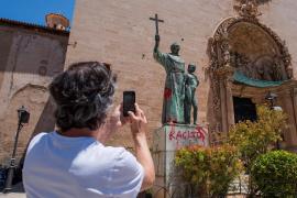 El PP propone en el Senado condenar los daños a estatuas de Juníper Serra