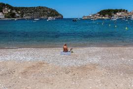 El primer episodio de calor del verano deja máximas en Mallorca de 34 grados y medio