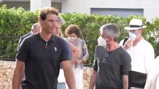 Así se grabó el 'spot' de Rafa Nadal para promocionar Mallorca