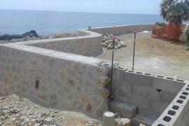 Costas abre un expediente sancionador por las obras del paseo de Cala Rajada