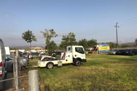 Alarma policial ante el abandono masivo de vehículos en La Soledat