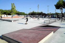 El Ajuntament de Calvià inaugura el skate park de Galatzó
