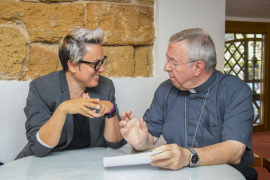 El obispo de Mallorca se reúne con Sonia Vivas por la polémica sobre Juníper Serra