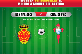 Así ha sido el Real Mallorca-Celta