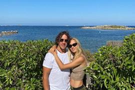 Carles Puyol y Vanesa Lorenzo, de escapada en Mallorca