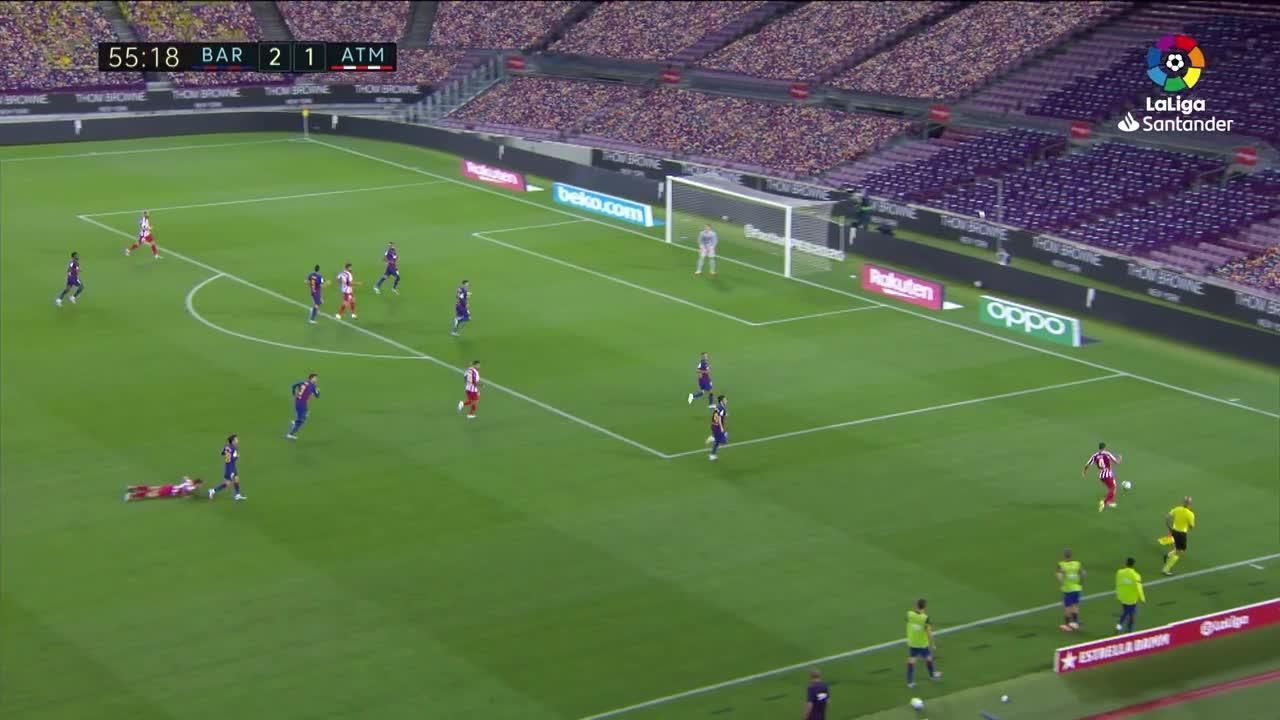 El Barça empata con el Atlético y deja vía libre al Real Madrid