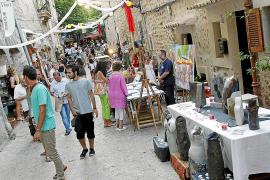 El arte, la música y la gastronomía invaden las calles de Valldemossa