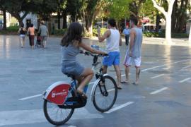 Palma registra 80 accidentes con bicicleta entre enero y julio