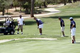 Golf en familia en Son Antem