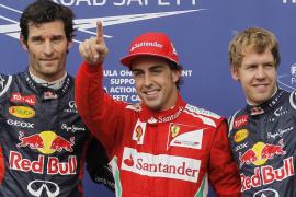 Alonso: «Mañana tenemos que acabar el trabajo»