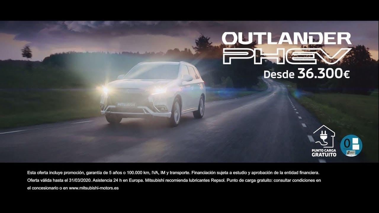 El Mitsubishi Outlander PHEV consigue un record histórico