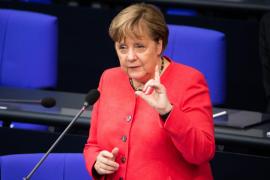Merkel: «Hagamos que Europa vuelva a ser fuerte»