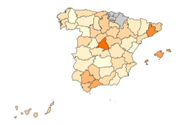 El precio del alquiler, municipio a municipio