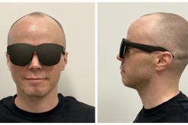 Facebook muestra un prototipo de sus gafas holográficas «para una realidad virtual delgada y ligera»