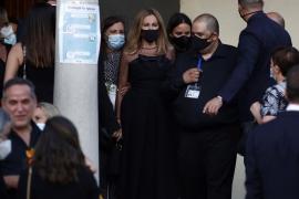 El emotivo discurso de Ana Obregón en el funeral de su hijo