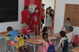 La escuela de verano, en pleno funcionamiento.